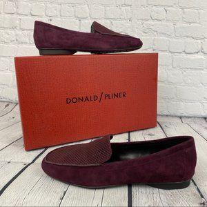 Donald Pliner Donita Suede Loafer